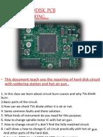 HDD PCB Repairing