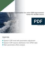 Parameters optimization for voice CDR improvement.ppt