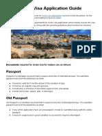 Israel Visa Requirements Guide