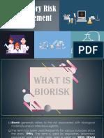 Laboratory Risk Management