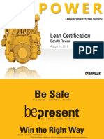 13-Caterpillar Lean Certification-Rene Jeanfreau, Caterpillar