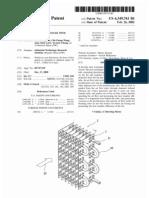 Fin-tube heat exchanger with vortex generator (US patent 6349761)