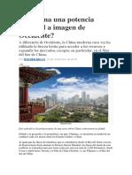 WALDEN BELLO  Es China una potencia imperial a imagen de Occidente