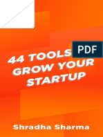44 Tools to Grow Your Startup