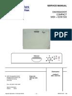 Zmywarka Electrolux Zanussi Moduł EDW500
