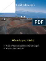 Light and Telescopes