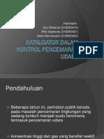 KATALISATOR DALAM KONTROL PENCEMARAN UDARA revisi.ppt