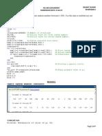 Original Matlab code for Fast fourier transform