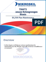 09 - BC and DR Plan Maintenance