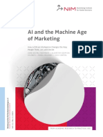 AI and the Machine Age of Marketing