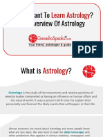 An Overview of Astrology
