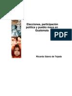Saenz de Tejada - Politica Y Pueblo Maya en Guatemala
