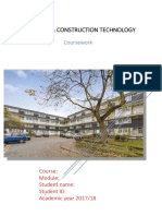 Construction Report Example