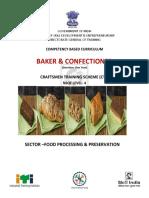 Baker & Confectioner_CTS_NSQF-4
