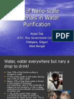 WATER PURIFICATION BY NANO