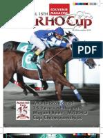 2010 15th MARHO Cup (MARHO Kinse) Souvenir Magazine