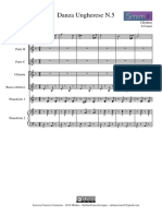 Brahms Danza Ungherese n.5 Cianci Orchestra