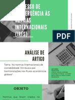 Processo de Convergência às normas internacionais (IRFS).pdf
