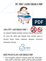 AIR SUSU IBU (ASI) EKSLUSIF