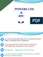 Receipt, Storage, Erection & Processing of Transformer at Site
