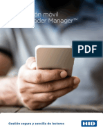 Aplicación móvil HID® Reader Manager™