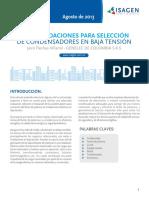 boletin-recomendaciones para seleccion de condensadores en bt.pdf