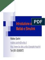 IntroduzioneMatlabSartini
