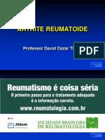 109821470-Aula-01-Artrite-Reumatoide-Nao-sao-da-aula-ppt.ppt