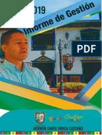 "INFORME de GESTIÓN 2019 | Administración Municipal Del Guatapé Para Volver a Creer"""
