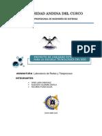 Proyecto de Cableado Estructurado - 2013