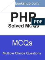 PHP Solved MCQs