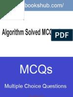 Algorithm Solved Mcqs Part II