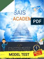 Sais Academy - Tamil Model Exam with Explaination
