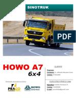 Ficha Tecnica Howo a7 6x4