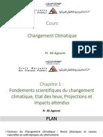 Aspects scientifiques du Changement climatique