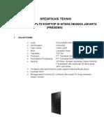 Spesifikasi Teknis _PLTS Presiden.pdf