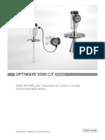 krohne-optiwave5200-manual