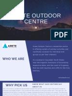 Arete Outdoor Centre Uk