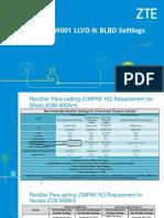 LLVd1 & BLVD setting