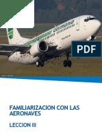 Lección II Familiarizacion con las Aeronaves