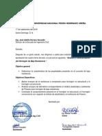 Carta de tesis