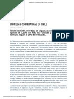 EMPRESAS COOPERATIVAS EN CHILE _ Decoopchile