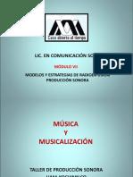 3.- MÚSICA Y MUSICALIZACIÓN 2019