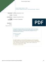 Exercício de Fixação - Módulo 2 - Enap