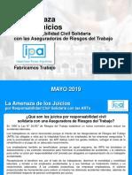IPA - Industria del Pleito Laboral ART - Mayo 2019