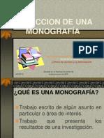 Redaccion monografia 2010