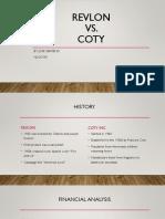 Revlon vs Coty