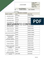 ACTA DE REUNIÓN 4 MARZO 2016