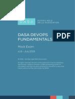 DASA DevOps Fundamentals_Mock Exam_English