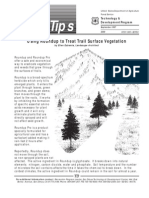 USDA Forest Service_Using Roundup to Treat Trail Surface Vegetation
